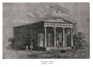 Antiquarian Museum circa 1850