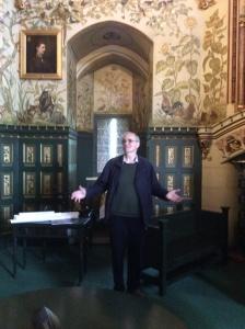 David McLees talks to us at Castel Coch
