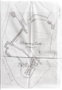 Abergavenny Castle (poss 1898)